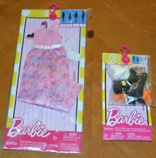 Barbie Fashions 2016 Beautiful Pink Dress W/ Purse + Assortment Pack Of Shoes