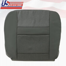 2007-2008 Dodge Ram 2500-3500 Driver Bottom Fabric Seat Cover in Med. Slate Gray