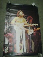 George Harrison Eric Clapton Rock Poster Vintage 1973 C229