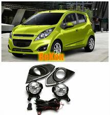 Bumper Fog Light Kit for Chevrolet Chevy Spark 2013 w/ Wiring Switch Bezel