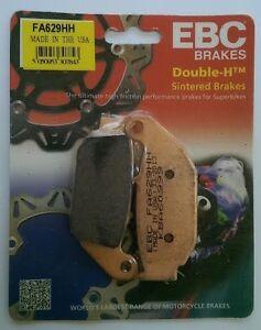 EBC Sintered REAR Disc Brake Pads (1 Set) Fits HONDA CB125R (2018 to 2021)