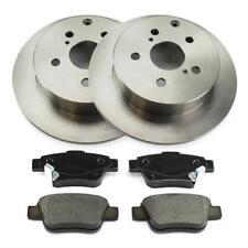 Bremsscheiben 2x Bremssattel Bremsbeläge hinten Toyota Corolla E12