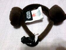 dog princess leia headband size s/m