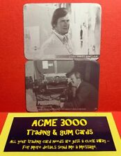 Unstoppable The Persuaders PRINTER PLATE PAIR Base Card NUMBER 29 Roger Moore