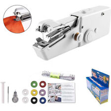 Hand Held Singer Sewing Machine Portable Stitch Sew Quick Handy Cordless