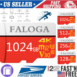 128&256&1024GB Micro SD Memory Card TF Ultra Class10 High Speed Fast Flash 4K A1