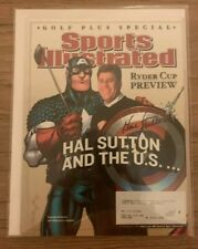 Hal Sutton autographed signed Sports Illustrated 9/14/04