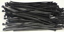 "100PC ZIP TIE CABLE WRAPS 24"" LONG 3/8"" WIDE 120LBS BLACK 10X600"