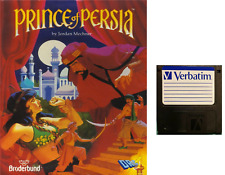 """PRINCE OF PERSIA : floppy disc 3,5"""" Commodore Amiga backup game disk (READ)"""