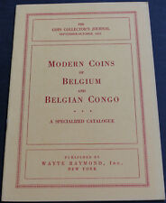 Antique - Modern Coins Of Belgium & Belgian Congo 1953 Scarce Reference