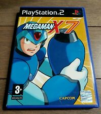 Megaman X7 - PlayStation 2 PS2 - PAL FR - COMPLETE!