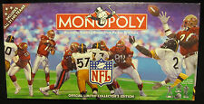 NFL Monopoly Property Trading Board Game Complete Limited Collector's Edition
