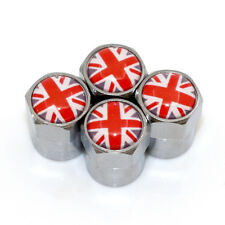 Bouchon de Valve en alu - United Kingdom - Lot de 4