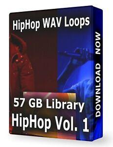 Hip Hop Volume 1 WAV Samples Loops Ableton Logic Pro Tools FL Studio Cubase Acid