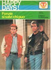 HAPPY DAYS! - FONZIE, SI SALVI CHI PUO - WILLIAM JHONSON  - ED LA SORGENTE 1978