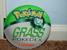 Pokemon Grass pokeDex 2004 Scholastic Paperback Book