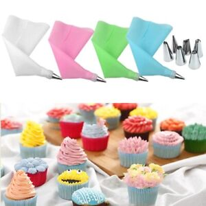 Cake Cookies Biscuit Baking Tools Pen Decorating Pastry Cream Piping Bag Nozzle