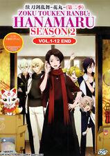 Zoku Touken Ranbu: Hanamaru (Touken Ranbu: Hanamaru 2) DVD 1-12 Anime ENG Dubbed