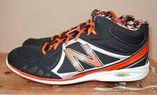L@K Nwob Mens New Balance 3000 Baseball Cleats Metal Black Orange Mb3000M0 16 D