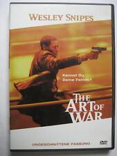ART OF WAR - DVD - WESLEY SNIPES - FSK 18