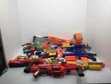 Lot Of 11 Nerf N Strike Blaster/Guns & Accessories Raider Rival Mega Alphahawk
