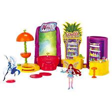 Winx Club Winx Frutti Music Bar With Bloom Fairy Doll Figure Play Set Barbie Toy
