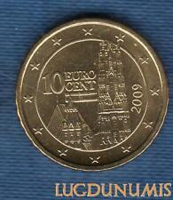 Autriche 2009 10 centimes d'euro SUP SPL Pièce neuve de rouleau - Austria