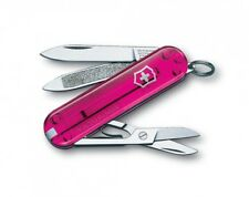 VICTORINOX classic SD ROSE TRANSP 7 fctns 0.6223.T5 couteau suiss army knife