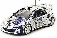 Auto di modellismo statico scala 1:24 per Peugeot