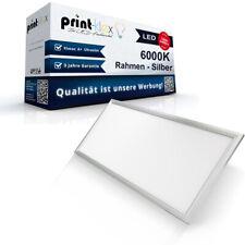 Qualitäts LED Panel Slim 120x30cm 40W Einbauleuchte 6000K Silber - Plus Serie