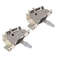 2 Pcs Vintage 5 Way Guitar Lever Switch for Fender Strat Tele Guitar Parts