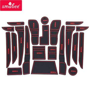 Gate Slot Cup Pad for VAUXHALL Opel Mokka Accessories Anti-Slip Door Groove Pad