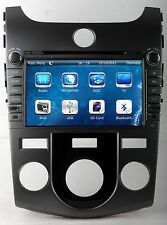 """8"""" Car Radio DVD Player GPS Navigation For KIA Forte Koup Manual Version 2008-"""