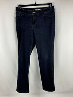 Chico's Platinum Denim Jeans Black Women's Size 1.5 Short