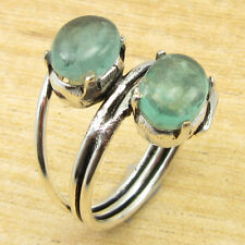 Low Price Apatite INEXPENSIVE Ring Size S ½ ! Silver Plated Metal Jewelry NEW