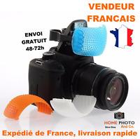 Filtre flash photo pop-up lot de 3 filtres de couleurs Canon Nikon Pentax Kodak