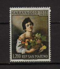 14336) SAN MARINO 1960 MNH** Caravaggio 1v