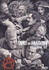 5 Dvd Box Cofanetto «SONS OF ANARCHY ♦ STAGIONE SEI 6» nuovo 2013