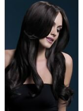 Brown Fever Khloe Wig, 26inch/66cm Adult Womens Smiffys Fancy Dress Costume