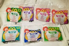 LOT of 7 - 1999 McDonald's HOT WHEELS Happy Meal Cars UNOPENED