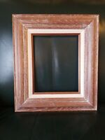 GORGEOUS Vintage MID CENTURY MODERN White Washed OAK FRAME MCM 8x10 in. fit