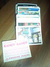 Panini stickers images Candy Candy 2ème série 81 images lot ou à l'unité liste