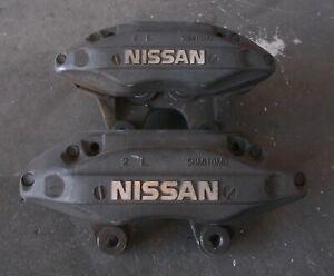 NISSAN SKYLINE R34 GTT RB25DET NEO 4piston front brake caliper pair sec/h #6