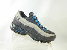 Nike Air Max 95 609048-052 Size 10 M Anthracite Medium Grey Blue Mens Shoes