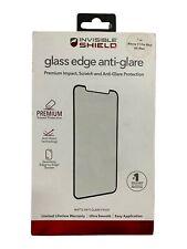 ZAGG Invisible Shield Glass Edge Anti Glare Protection iPhone 11 Pro Max/ XS Max