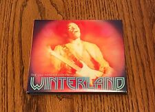JIMI HENDRIX THE JIMI HENDRIX EXPERIENCE WINTERLAND CD WITH COLORED BOOKLET