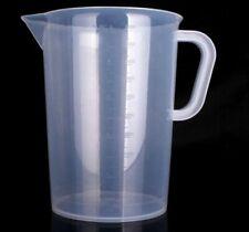 5000ml 5L Plastic Measuring Jug Liquid Nutrients Water Hydroponics Cooking
