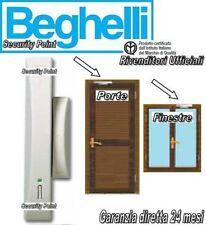BEGHELLI INTELLIGENT RIVELATORE PERIMETRALE BH8073 PORTE FINESTRE + PILA LITIO
