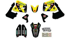 Suzuki RM125 250 2001 - 2008 juego de equipo Kit Gráfico Pegatina Yoshimura