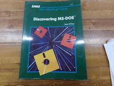 Discovering MS-DOS The Waite Group Textbook by Kate O-Day ~ 22407